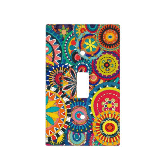 Retro Funk Fun Light Switch Cover