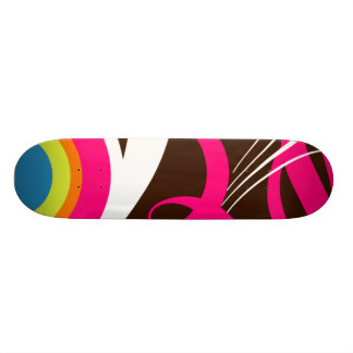 Retro Funk Custom Skate Board