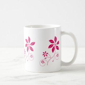 Retro - Funky Flowered  Beverage Mugs