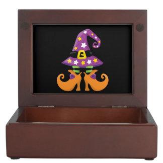 Retro Funky Halloween Memory Boxes