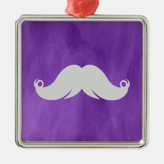 Retro Funny Handlebar Mustache Ornament