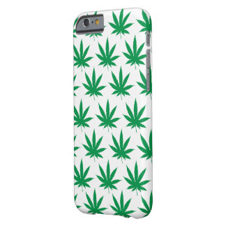 Retro Funny Pot Leaf Pattern Barely There iPhone 6 Case