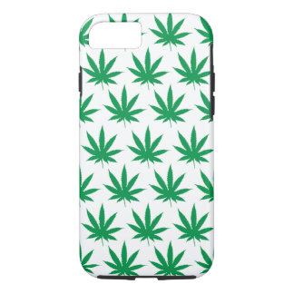 Retro Funny Pot Leaf Pattern iPhone 7 Case