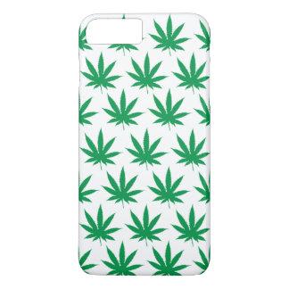 Retro Funny Pot Leaf Pattern iPhone 7 Plus Case