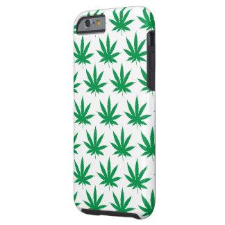 Retro Funny Pot Leaf Pattern Tough iPhone 6 Case