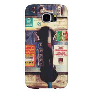 Retro Funny US Public Pay Phone - Cool and Unique Samsung Galaxy S6 Case