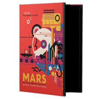 Retro Futurist Mars Space Tourism Illustration Powis iPad Air 2 Case