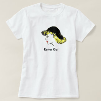 Retro Gal (2X-Large) T-Shirt