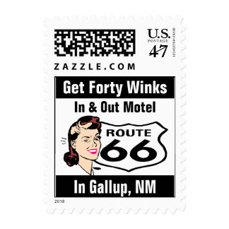 Retro Gallup NM Promote Wink Route 66 Vintage Postage