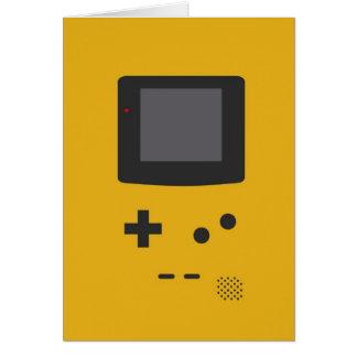 Retro game card