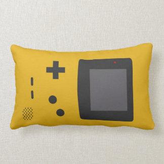 Retro game lumbar pillow