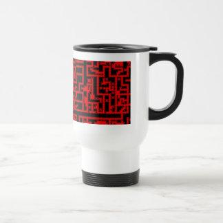 Retro game travel mug