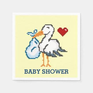 stork baby shower paper napkins zazzle