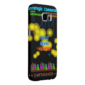 Retro Gamer Earthsaver Missiles Samsung Galaxy S6 Case
