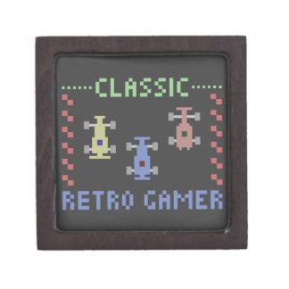 Retro Gamer Racing Keepsake Box