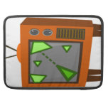 Retro gaming tv MacBook pro sleeve