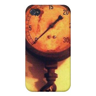 retro gauge iPhone 4 case