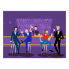 Retro Gay Bar Poster