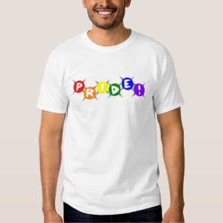 Retro Gay Pride Tee Shirt