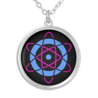 Retro Geek Atom Symbol Custom Jewelry
