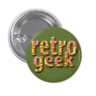 Retro Geek Buttons