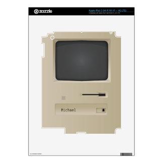 Retro Geek PC Computer iPad Skin