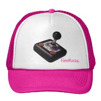 Retro GeeKess Gamer cap Trucker Hat