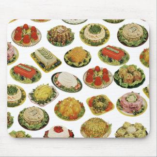 Retro Gelatin Salads Mouse Pad