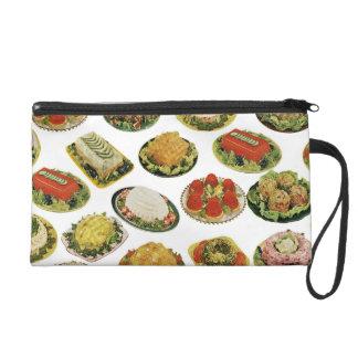 Retro Gelatin Salads Wristlet