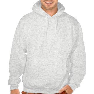 Retro gentelman mustaches hipsters hoodie
