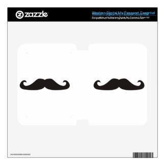 Retro gentelman mustaches hipsters skin WD my passport skin
