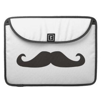Retro gentelman mustaches hipsters sleeve MacBook Sleeves For MacBooks
