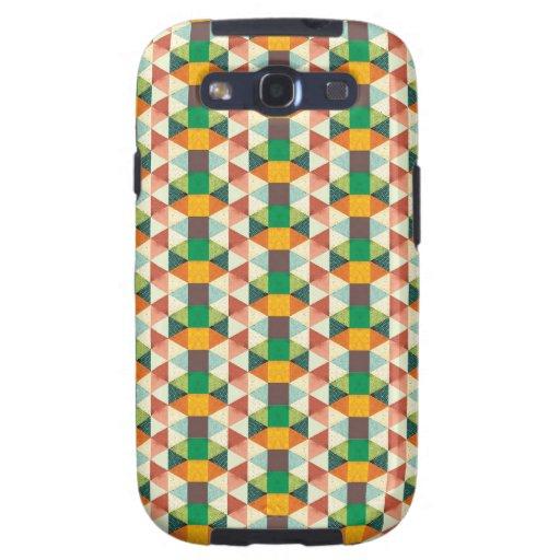 Retro Geo Metric Samsung Galaxy SIII Covers