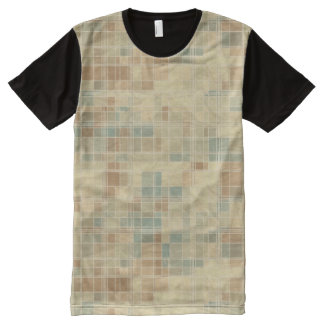 Retro geometric pattern 2 All-Over print t-shirt
