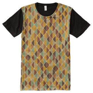 Retro geometric pattern 3 All-Over print t-shirt