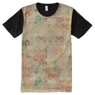 Retro geometric pattern 5 All-Over print t-shirt