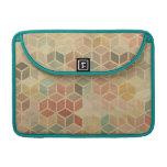 Retro geometric pattern 5 MacBook pro sleeves