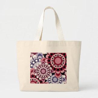 Retro Georgie Pink Canvas Bag