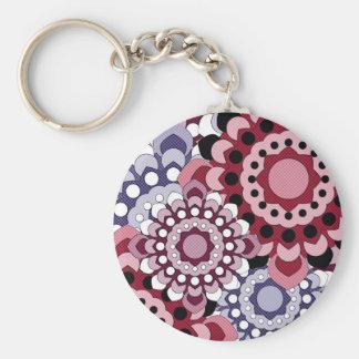 Retro Georgie Pink Keychain