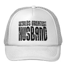 Retro Gifts for Husbands World's Greatest Husband Hats