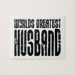 Retro Gifts for Husbands World's Greatest Husband Puzzles