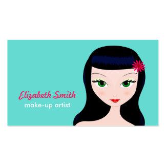Retro Girl Business Card