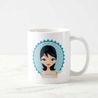 Retro Girl Coffee Mug