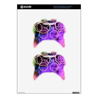 Retro Girl Xbox 360 Controller Skin