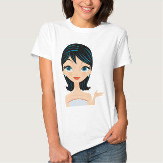 Retro Girl T Shirt