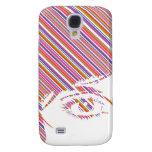 Retro Girls Face iphone 3G Case Samsung Galaxy S4 Cases