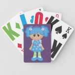 Retro Girly Colorful Doll Playing Cards