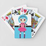 Retro Girly Rag Doll Deck Of Cards