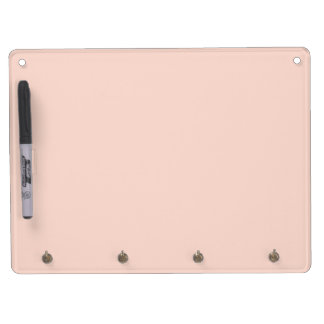 Retro Girly Retro Pink Peachy, Pretty For Her Dry Erase Board With Keychain Holder
