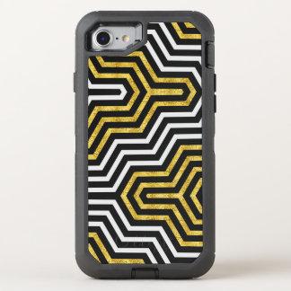Retro Glam Geometry Pattern Apple iPhone 6/6s OtterBox Defender iPhone 7 Case